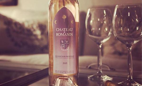 Château Romanin rosé.