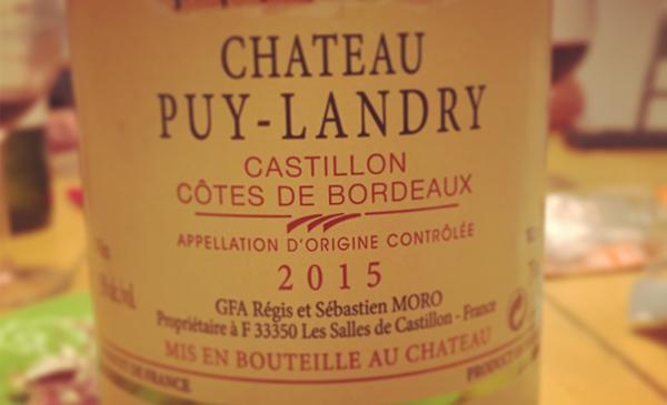 Chateau Puy-Landry.