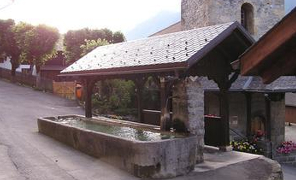 La fontaine de Gryon