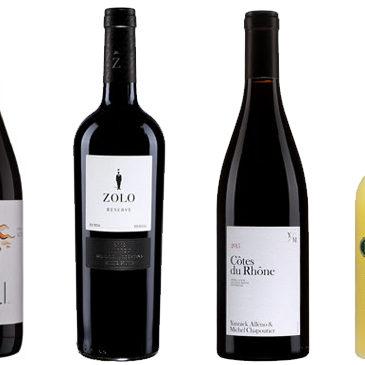 Des vins rouges délicieux et un Limoncello.