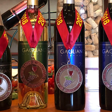 Quatre vins ont remporté une médaille.