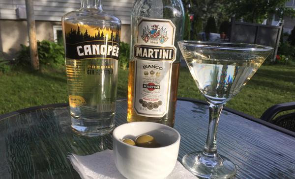 Un Dry martini d'été !