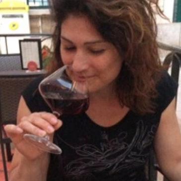 Nancy Lafrance lors d'un récent voyage en Bourgogne