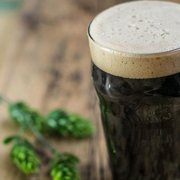 Bière noire.