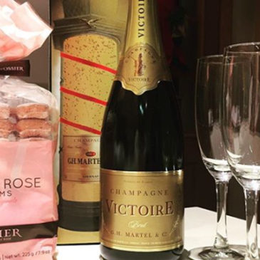 Champagne Victoire Cuvée Prestige.