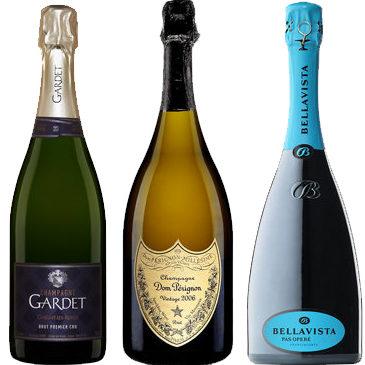 Des Champagne et des mousseux exaltants !