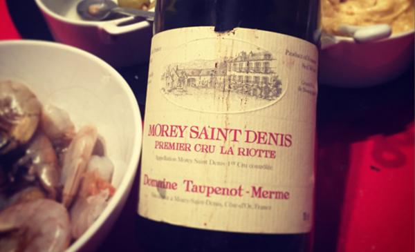 Morey St-Denis. Premier cru La Riotte.